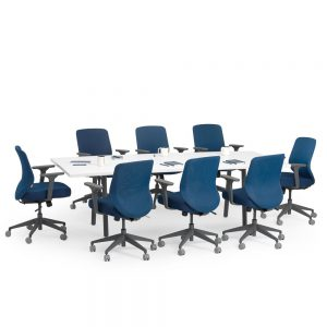 Poppin Series A Conference Table, 96″W