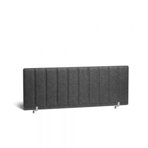 Poppin Pinnable Privacy Panel, Face to Face, 47″ Dark Gray