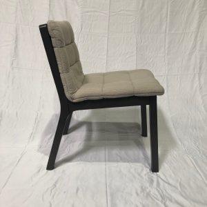BluDot Wicket Tufted Chair, Light Grey