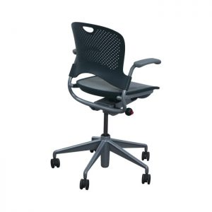 Herman Miller Caper Used Conference Chair, Gray