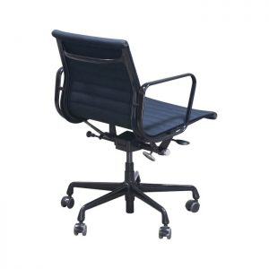 Herman Miller Eames Aluminum Group Mgmt Used Chair, Black