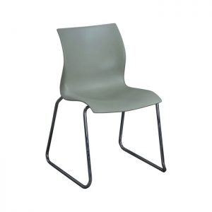 Teknion Nami Used Stack Chair, Sage