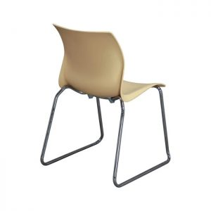 Teknion Nami Used Stack Chair, Butterscotch
