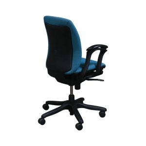 Teknion Amicus Synchro Used Conference Chair, Jewel Blue