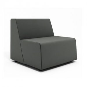 Campfire Half Lounge Chair, with casters