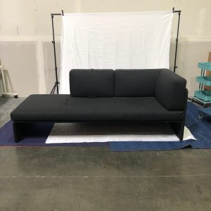 Coalesse Lagunitas 3-Seat Chaise with Low-Back Screen and One Side Screen