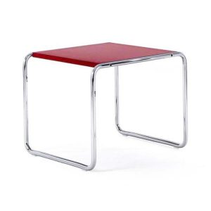 Knoll Laccio Side Table – Red
