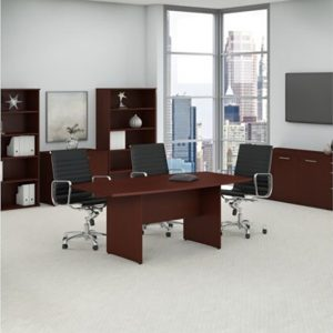 Conference Table 72″x36″ Boat Shaped Harvest Cherry