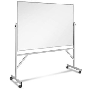 Magnetic Steel 6′ x 4′ Mobile Dry Erase Board